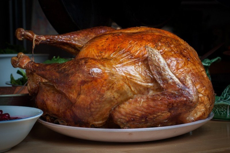 Thanksgiving Turkey on a Plater
