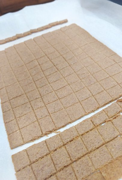 Cut Gingerbread Toast Crunch Cereal Dough