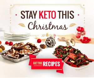 Link to buy keto holiday cookbook