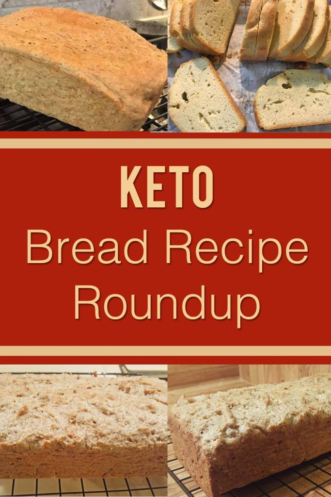 Pinterest Image for keto bread recipe post