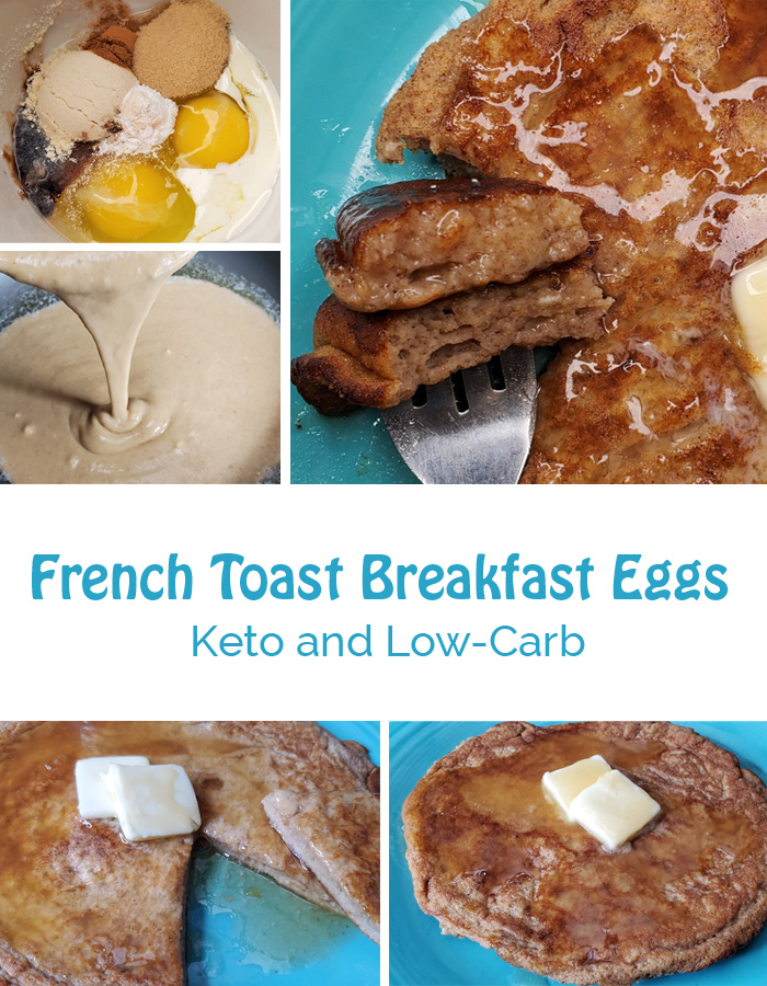 French toast breakfast eggs pinterest image